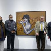Garouste en Inde, les dessous d'une exposition soutenue par la France