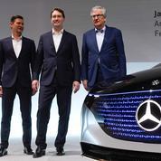 Daimler dans la course à l'électrique pour faire briller son étoile