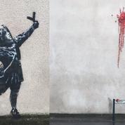 À Bristol, une nouvelle fresque attribuée à Banksy pour la Saint-Valentin