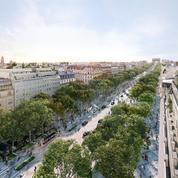 Plus verts et avec moins de voitures, découvrez les nouveaux Champs-Élysées