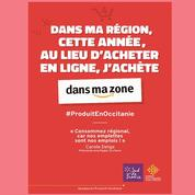 L'Occitanie détourne les logos des Gafa pour vanter le commerce de proximité