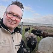 Sylvain Girard: «Lesmoutons remplacent les tondeuses»