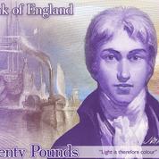 À l'heure du Brexit, Londres choisit le peintre Turner et une évocation de Trafalgar pour ses billets de 20 livres