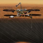 Mars reste agitée par de légers spasmes
