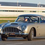 Le Figaro au volant des Aston Martin de James Bond