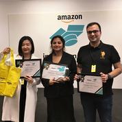 Logistique: l'Edhec remporte le premier prix du concours d'innovation d'Amazon