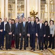 Franck Riester distingue les artisans du luxe du Comité Colbert au ministère de la Culture
