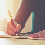 Écrire à la main, ça fait du bien!