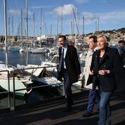 Marine Le Pen tente de nationaliser la campagne