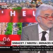 Menacé par Sneazzy et Nekfeu, Pascal Praud réfléchit à la suite à donner