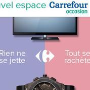 Carrefour, Auchan et Leclerc ouvrent leurs rayons aux produits d'occasion