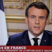 Coronavirus: l'allocution d'Emmanuel Macron a rassemblé près de 25 millions de Français