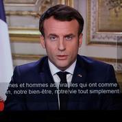 Le discours d'Emmanuel Macron fait planter les «drives» des magasins