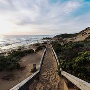 La leçon de surf de Fiona Capp en Australie