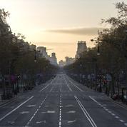 Coronavirus: 46millions d'Espagnols confinés à leur domicile