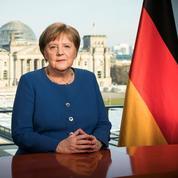 Coronavirus en Allemagne: Merkel invoque l'histoire mais évite les postures martiales
