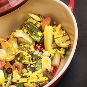 La recette de couscous de légumes de Gérald Passedat