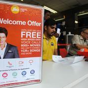Facebook lorgne l'un des principaux opérateurs télécom d'Inde, Reliance Jio