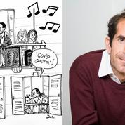 Le dessinateur Jul devient DJ «Covid Guetta» pour égayer son quartier durant le confinement
