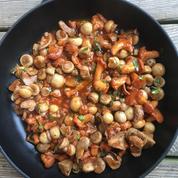 La recette des champignons à la grecque d'Emmanuel Renaut