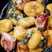 La recette des gnocchi au beurre et à la sauge de Simone Zanoni