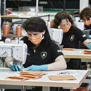 Covid-19: Lamborghini fabrique des masques chirurgicaux