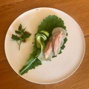 La recette de la ventrèche de thon germon, navet blanc de Pierre Gagnaire