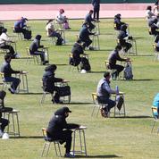 Coronavirus: en Corée du Sud, un concours a été organisé dans un stade