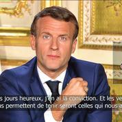 Macron cherche la voie de la «concorde»