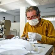 En Italie, les besoins de masques augmentent plus vite que la production