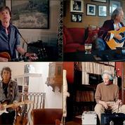 Les Rolling Stones au (télé)travail