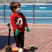Déconfinement: les petits Espagnols en liberté surveillée