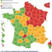 Carte du déconfinement: la France se réconcilie avec ses départements