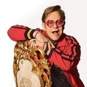Elton John tombe le masque sur Canal +