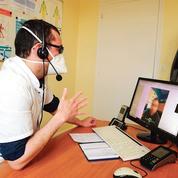 L'usage massif de la téléconsultation n'a pas freiné le plongeon de l'activité des médecins