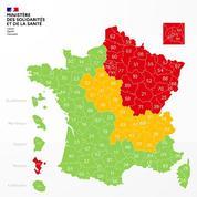 Carte du déconfinement: les départements ruraux voient rouge