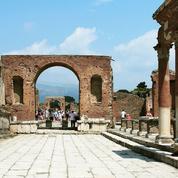 Pompéi: place du marché