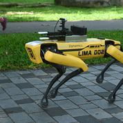Essor des robots-policiers: le «monde d'après» sera-t-il orwellien?