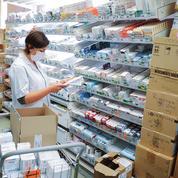 Dans les hôpitaux, des stocks de matériel et de médicaments difficiles à reconstituer