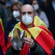 En Espagne, des révoltés du confinement défient le gouvernement