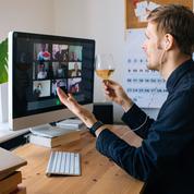 Avec le confinement, la vie de bureau continue en mode virtuel