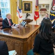 Donald Trump et Jack Dorsey, le patron de Twitter, entre ambivalence et détestation