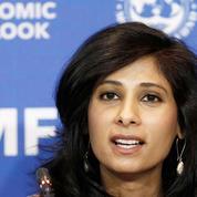 Gita Gopinath, chef économiste du FMI: «On ne retrouvera pas le niveau d'avant-crise rapidement»