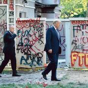 Donald Trump en première ligne face à la colère