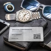 Une carte grise digitale infalsifiable pour les montres de collection