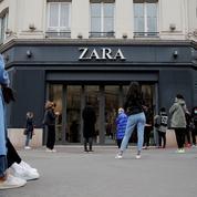 Zara en pertes pour la première fois depuis 2001