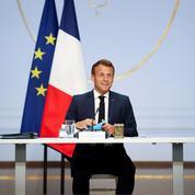 Emmanuel Macron lève un coin du voile sur «l'après-crise»