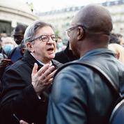 Mélenchon s'érige en figure de la défense des quartiers contre la police