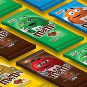 M&M's se lance en tablettes pour concurrencer Crunch et Milka