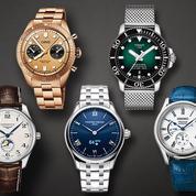 Cinq montres à la gloire de nos pères